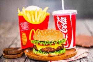 Repas macdonald ou régimes hypocalorique?