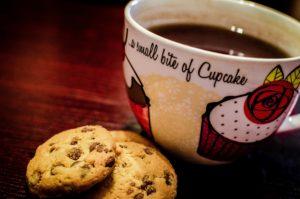 Un cookie contient du sucre et du beurre